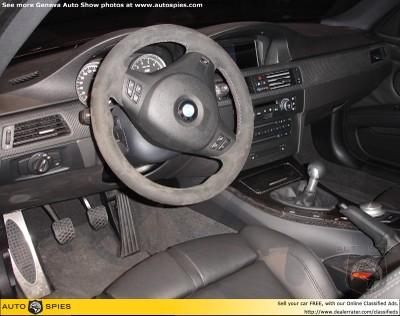 E92 New BMW M3 内装