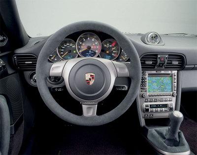 ポルシェ911 GT2 997 内装