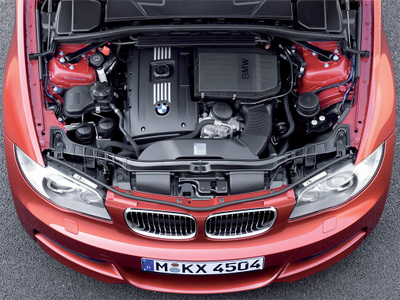 BMW1シリーズクーペ 135i エンジン