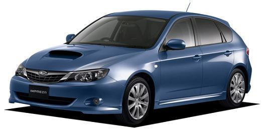 新型インプレッサ S-GT