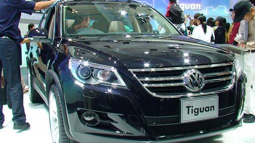 東京モーターショー2007 VWティグアン画像 フロントマスクアップ