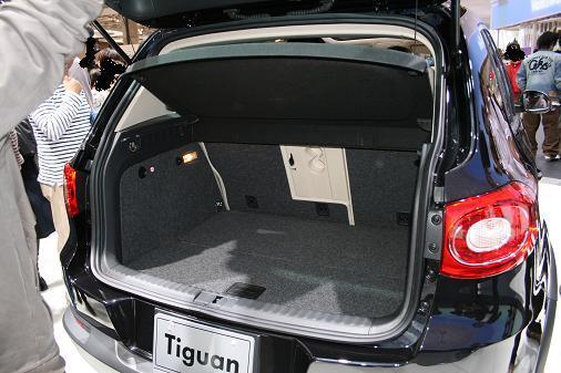 東京モーターショー2007 VWティグアン画像 トランク
