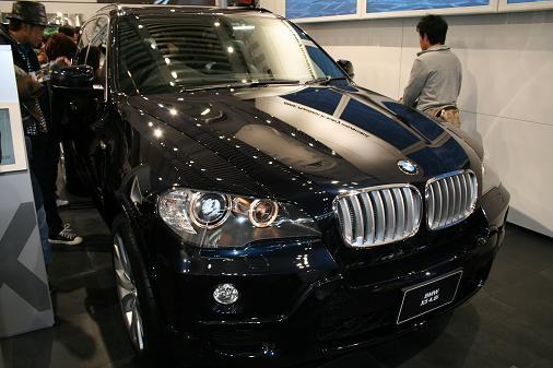 東京モーターショー2007 BMW新型X5画像