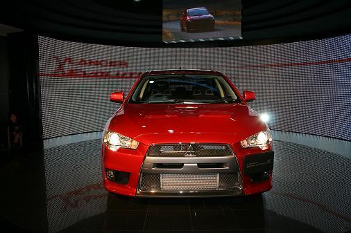 東京モーターショー2007 ランサーエボリューションⅩフロント画像