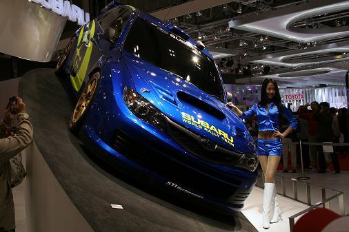 東京モーターショー2007 インプレッサWRX画像